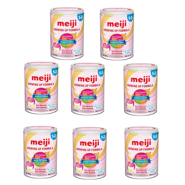 Thùng  sữa Meiji số 1 nhập khẩu, hộp 800g, 1-3 tuổi