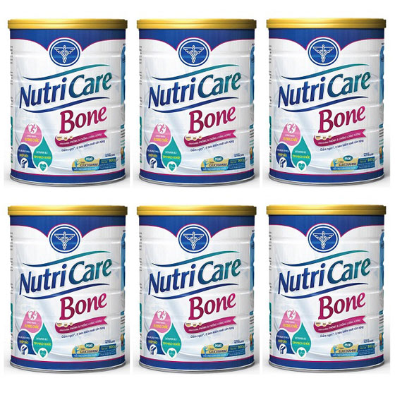 Sữa Nutricare Bone  hỗ trợ xương khớp, 6 hộp 900g