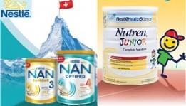 Sữa bột Nestle Thụy Sỹ