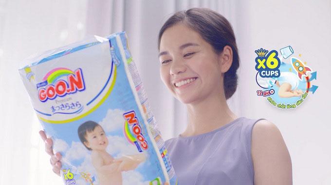 Tã dán Goon Premium size L 50 miếng, trẻ từ 9 - 14kg