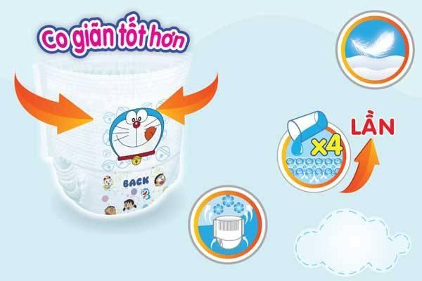 Tã quần Goon Friend Size XL 40 miếng, cho trẻ 12-17kg