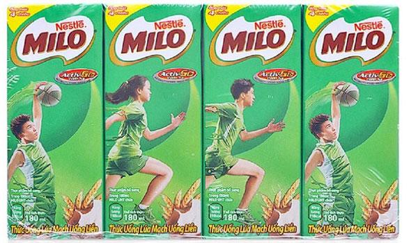 sữa Milo hộp 180ml