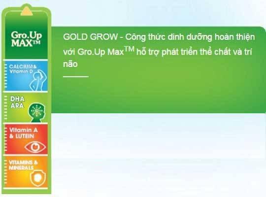 Sữa Anka Gold grow số 1 hộp 900g cho trẻ  0-6 tháng