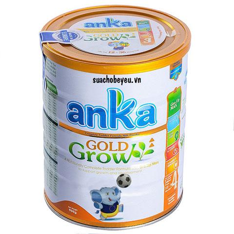 Sữa Anka Gold grow số 4 lon 900g cho trẻ 3-6  tuổi