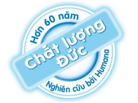 Sữa Humana Gold số 2 nhập khẩu Đức lon 800g cho bé từ 6-12 tháng tuổi