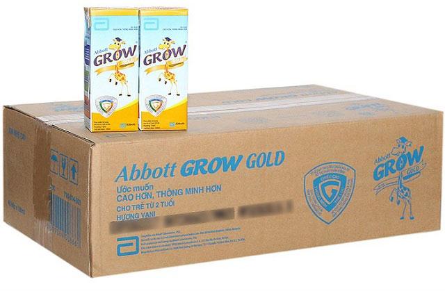 sữa bột pha sẵn abbott grow gold hộp 180ml cho trẻ trên 2 tuổi