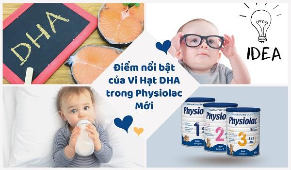 Thùng sữa Physiolac số 1 hộp 900g nhập khẩu Pháp