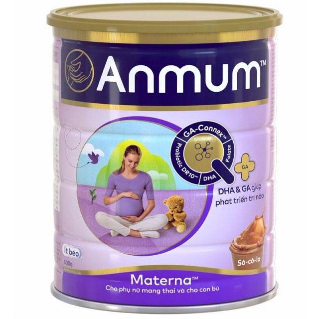 Sữa cho mẹ mang thai Anmum Materna hương Socola lon 800g