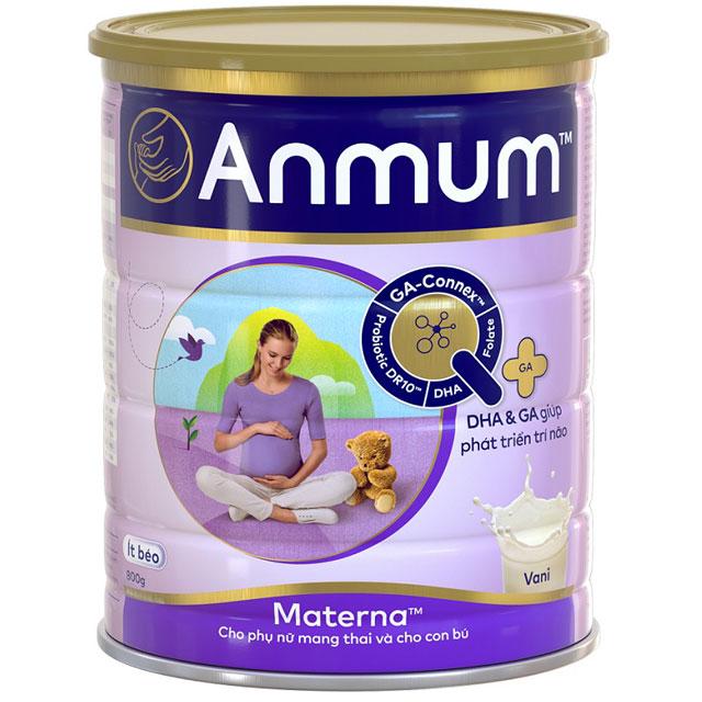 Sữa cho mẹ mang thai Anmum Materna hương Vani lon 800g