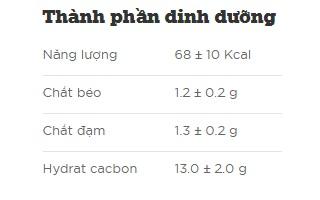 sữa chua uống tiệt trùng lif kun hương cam hộp 180ml