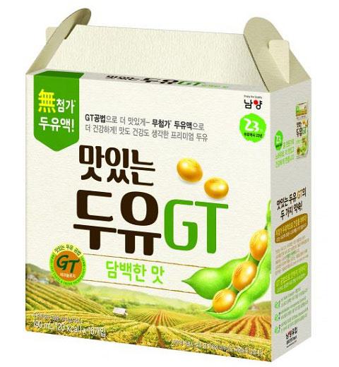sữa đậu nành đậu vàng ít ngọt namyang gt Hàn Quốc, hộp 190ml