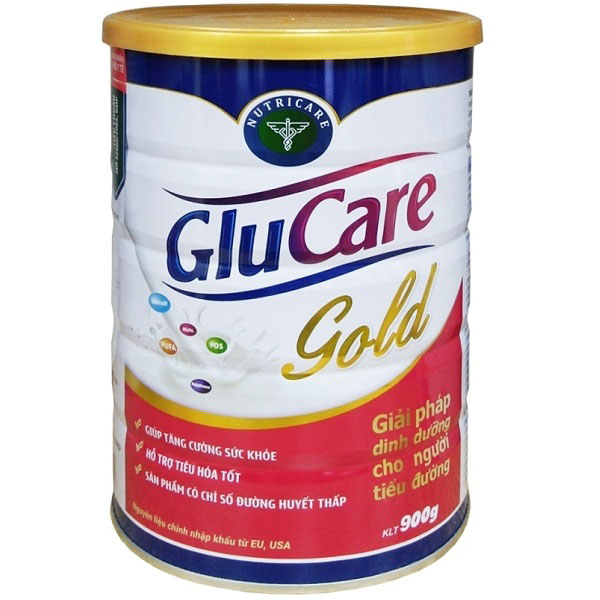 sữa Glucare Gold cho người tiểu đường lon 900g