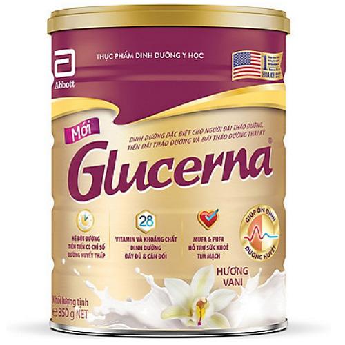 Sữa Glucerena cho người tiểu đường, hộp 850g