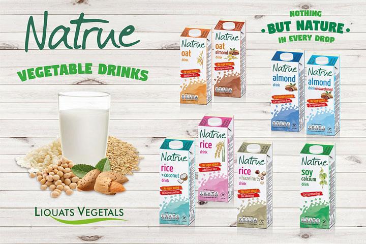 Sữa hạt Natrue Gạo và hạt dẻ rice hazel nuts hộp 1L