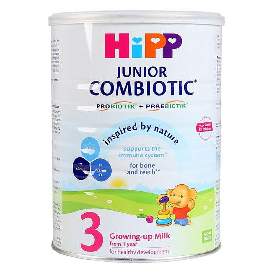 Sữa Hipp Combiotic số 3 lon 800g cho trẻ 1-3 tuổi