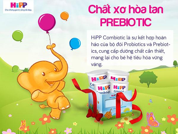 Sữa Hipp Combiotic số 3 lon 350g cho trẻ 1-3 tuổi