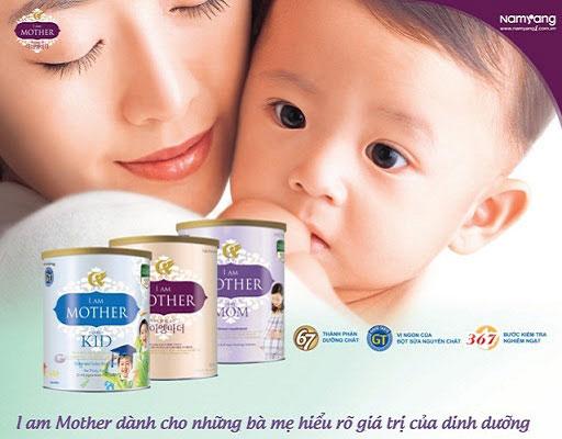 Sữa I am Mother 3 lon 800g, Namyang cho trẻ 6-12 tháng