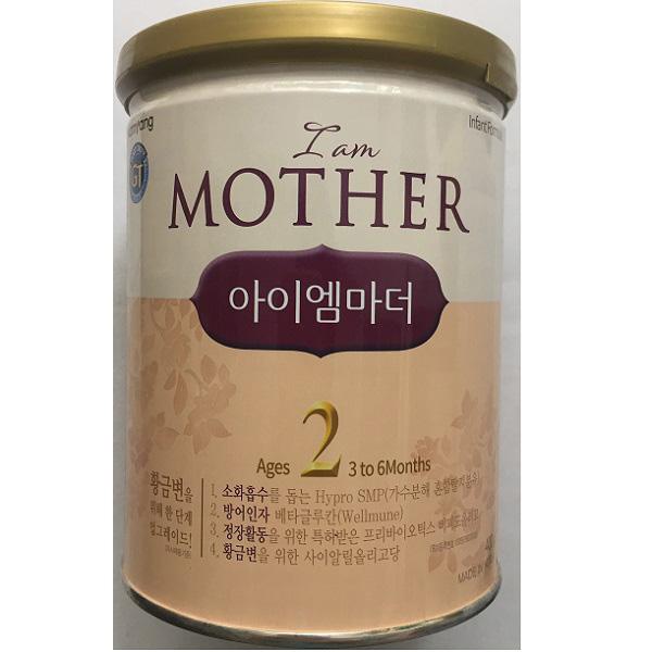 Sữa I am Mother số 2 Hàn Quốc, 3-6 tháng tuổi