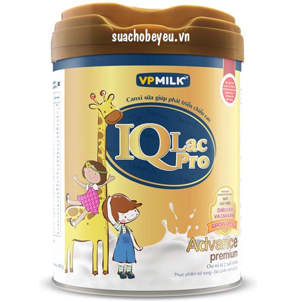 sữa iqlac pro advance premium hương vani lon 400g