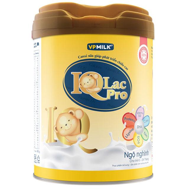 sữa iqlac pro ngộ nghĩnh hộp 900g cho trẻ 6-24 tháng