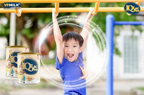 Sữa IQlac Pro Phát triển chiều cao hộp 900g, 2-9 tuổi
