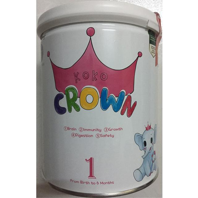 Sữa Koko Crown số 1 namyang Hàn Quốc cho trẻ từ 0 đến 6 tháng tuổi