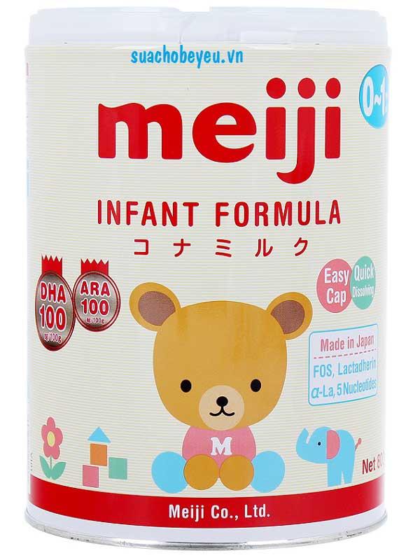 sữa meiji và sữa morinaga loại nào tốt hơn