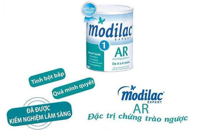sữa modilac AR số 1 chống trào ngược, nôn trớ cho trẻ 0 đến 6 tháng tuổi
