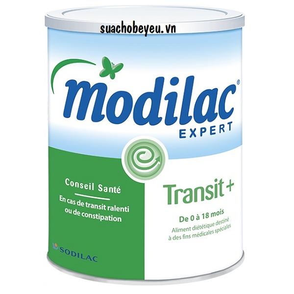 sữa Modilac expert transit + cho trẻ bị táo bón