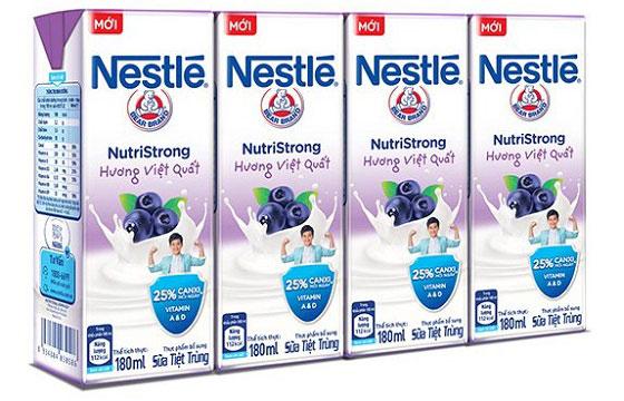 sữa nước nestle nutristrong hương việt quốc hộp 180ml