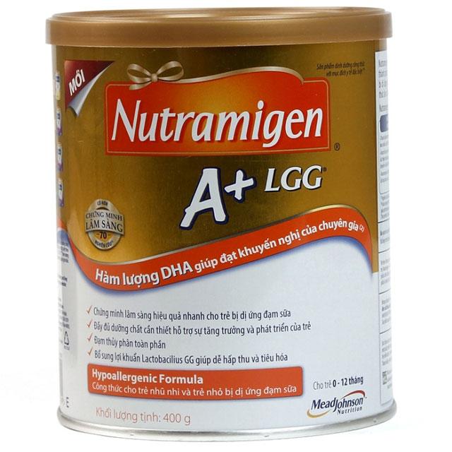 Sữa Nutramigen dành cho bé bị dị ứng đạm sữa bò