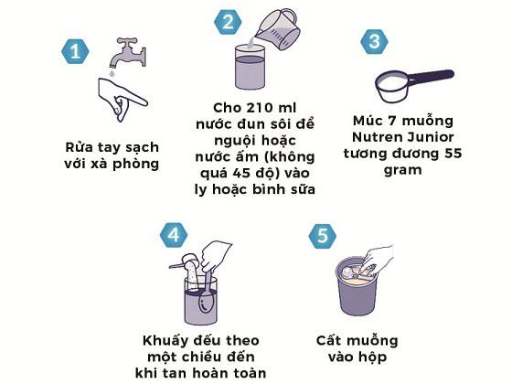 Sữa Nutren Junior dành cho trẻ suy dinh dưỡng từ 1-10 tuổi, hộp 400g
