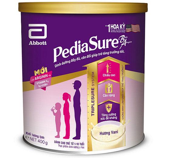 Sữa bột Pediasure BA cho trẻ biếng ăn. hộp 400g