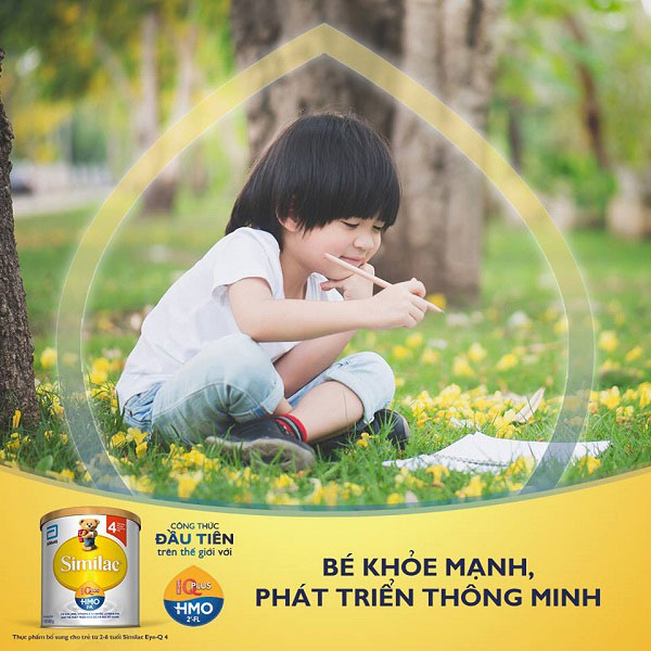 Sữa Similac IQ 4 HMO cho trẻ 2-6 tuổi lon nhỏ 400g
