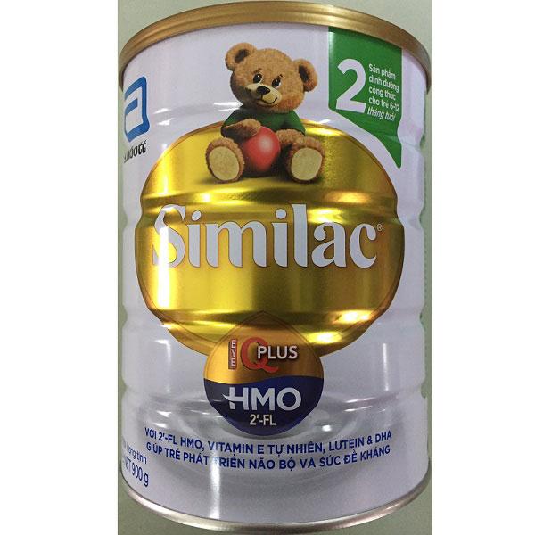 sữa similac iq HMO số 2 lon 900g cho trẻ từ 6 đến 12 tháng tuổi
