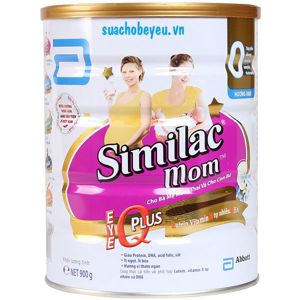 Kết quả hình ảnh cho sữa similac advance Mom IQ