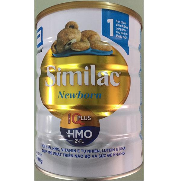 sữa similac iq 1 HMO cho trẻ 0 đến 6 tháng tuổi lon 900g