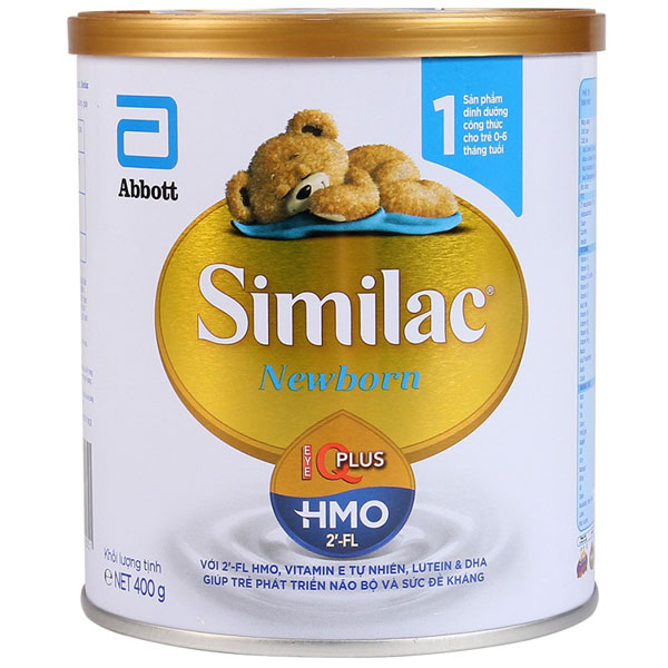 sữa similac iq 1 HMO cho trẻ 0 đến 6 tháng tuổi lon 400g