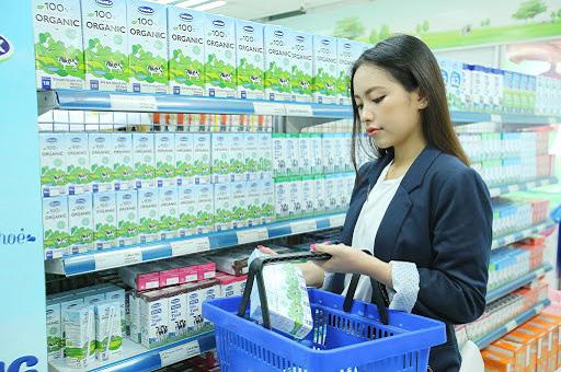 sữa tươi tiệt trùng vinamilk có đường hộp 1 lít