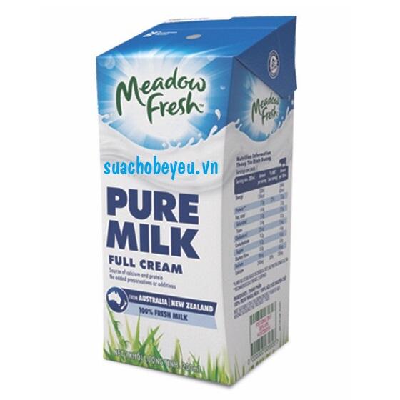 sữa cho trẻ tăng cân