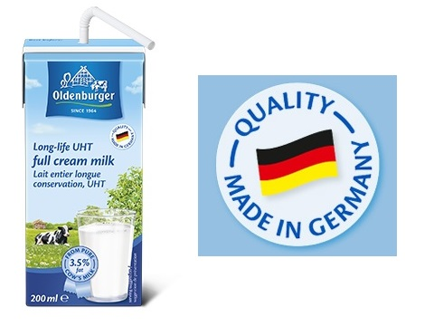sữa tươi nguyên kem oldenburger nhập khẩu Đức hộp 200ml