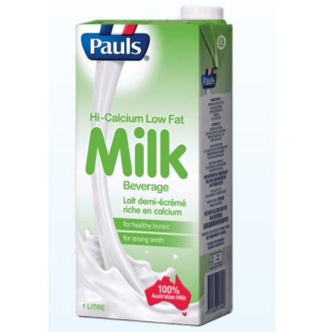 sữa tươi Pauls nhập khẩu Úc bổ sung Canxi hộp 1 lít