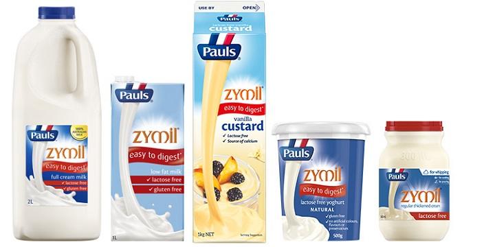 Sữa tươi Pauls Zymil ít béo không đường Lactose hộp 250ml