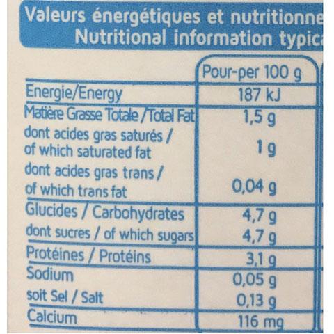 thùng sữa tươi Promess ít béo 6 hộp 1 lít nhập khẩu pháp