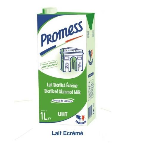 sữa tươi Promess không béo hộp 1 lít nhập khẩu pháp