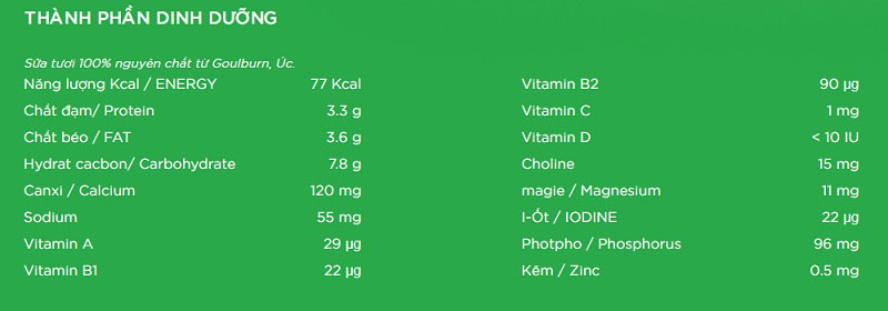 thùng sữa tươi Lif Úc ít đường hộp 200ml