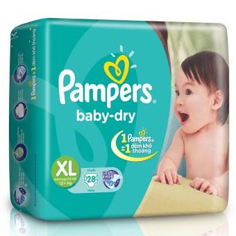 tã dán pampers size XL28 miếng cho trẻ trên 12kg