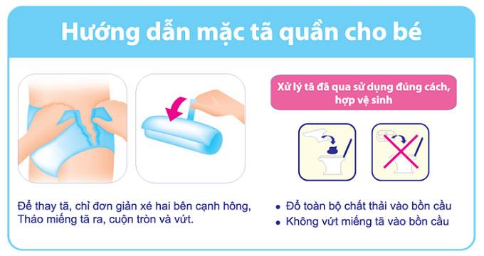 Tã quần Goon Premium size XL 22 miếng, cho trẻ 12 - 17kg