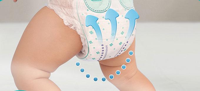 Tã quần Pampers Giữ Dáng size XL 32 miếng, cho trẻ từ 12-17kg.