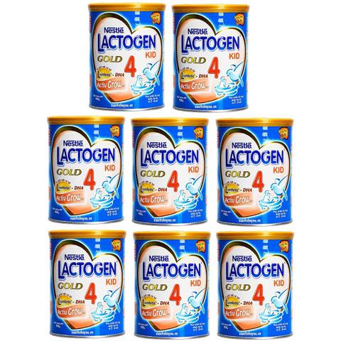 thùng sữa Lactogen gold 4 900g cho trẻ 2-6 tuổi